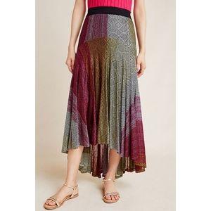 NEW Cecilia Prado Abstract Midi Skirt sz Small